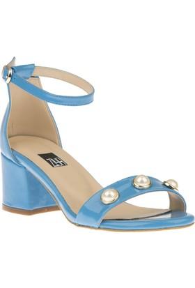 Ziya Kadın Sandalet 81355 3022 Mavi