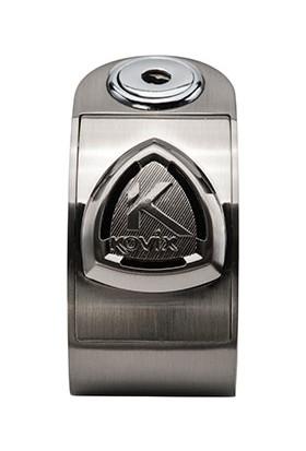 Kovix KD6-BM Alarmlı Disk Kilit Gri