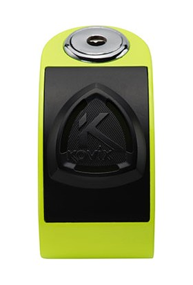 Kovix KD6-FG Alarmlı Disk Kilit Neon Sarı