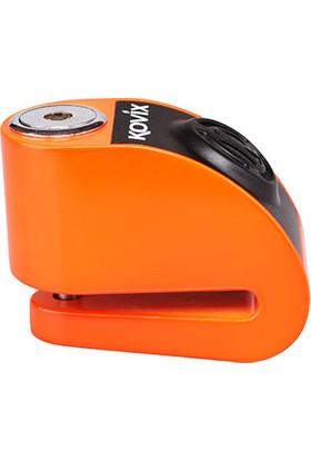 Kovix KD6-FO Alarmlı Disk Kilit Turuncu