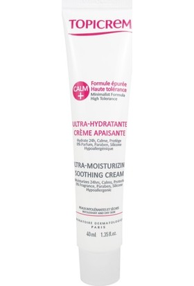Topicrem Calm+ Ultra Moisturizing Soothing Cream 40 ml