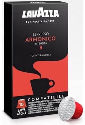Lavazza Espresso Armonico Nespresso Uyumlu Kapsül Kahve 10 Adet