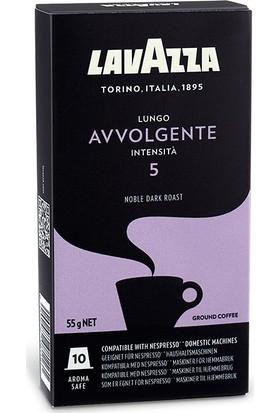 Lavazza Lungo Avvolgente Nespresso Uyumlu Kapsül Kahve 10 Adet