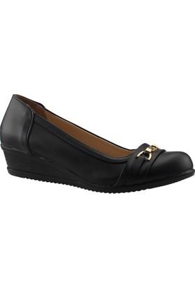 Ayakland Serra20 Siyah Kadın Klasik Ayakkabı