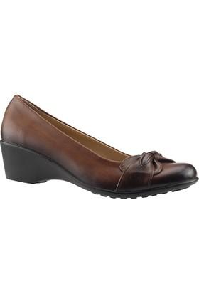 Ayakdaş 902 Taba Dolgu Kadın Ayakkabı