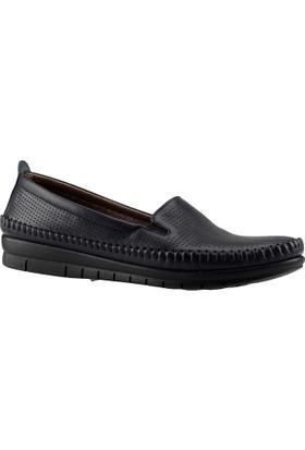 Full Comfort 681 Vert Deri Kadın Dolgu Ayakkabı