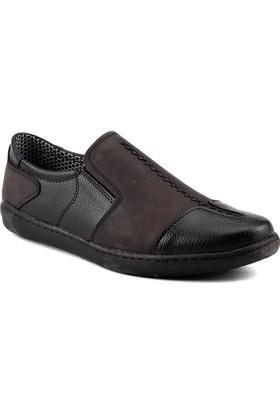 Sümer 220 Kahverengi Lastikli Erkek Ayakkabı