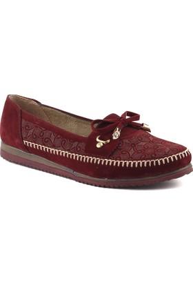 Almira R-1 Bordo Kadın Ayakkabı