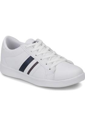 Torex Gevon Beyaz Lacı Kırmızı Kadın Sneaker