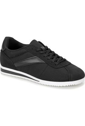 Torex Zeus Mesh Siyah Beyaz Erkek Sneaker
