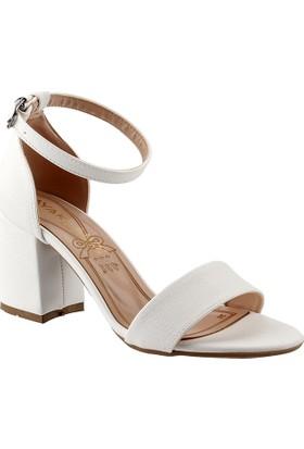 Ayakland 1005-62 Beyaz Lu Kadın Ayakkabı