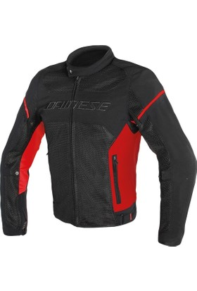 Dainese Air Frame D1 Tekstil Mont Black Red Red