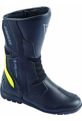 Dainese Tempest D-Wp Bot Black Fluo Yellow