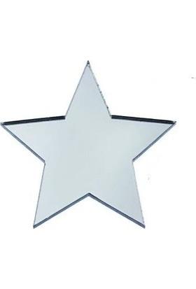 LazerAtölye Pleksi Yıldız Aksesuar Süsleme Elemanı