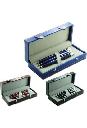 Paw Şık Tasarımlı Kutuda Üçlü Kalem Seti