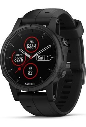 Garmin fenix 5S Plus Sapphire Multispor Akıllı Saat Siyah
