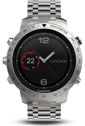 Garmin Fenix Chronos HR Sapphire-Çelik Kayış