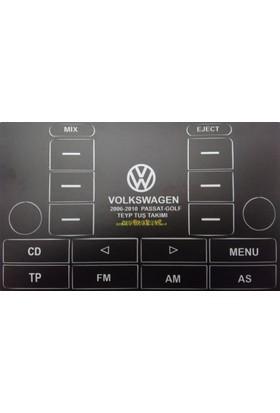 Volkswagen golf 5, passat 2006 2010 teyp tuş takımı