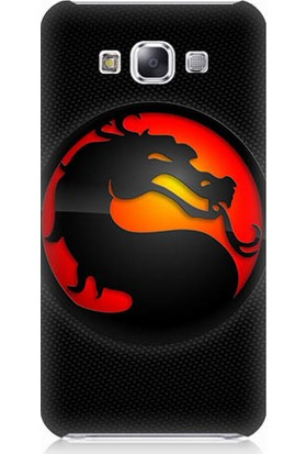 Teknomeg Samsung Galaxy E5 Mortal Combat Desenli Tasarım Silikon Kılıf