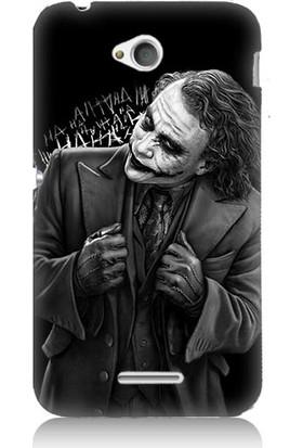 Teknomeg Sony Xperia E4G Joker Desenli Tasarım Silikon Kılıf