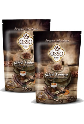 Osso Osmanlı Dibek Kahvesi 250 Gr x 2 Adet