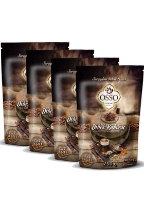 Osso Osmanlı Dibek Kahvesi 250 gr x 4 Adet