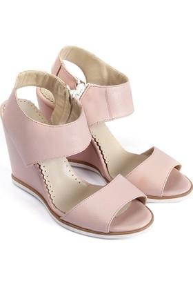 Gön Deri Kadın Sandalet 25936