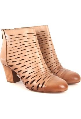 Gön Deri Kadın Ayakkabı 23158