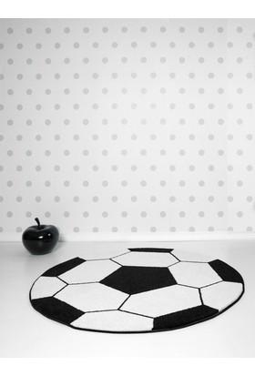 Odeon Futbol Topu Yuvarlak Çoçuk Halısı