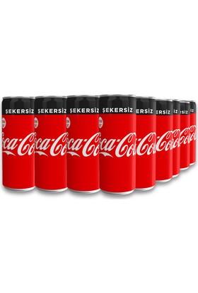 Coca-Cola Şekersiz 330 ml, 24'lü Paket