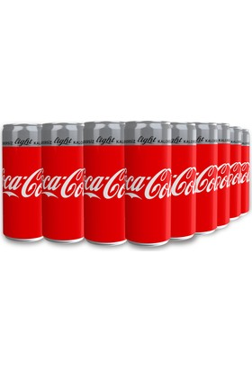 Coca-Cola Light 330 ml, 24'lü Paket