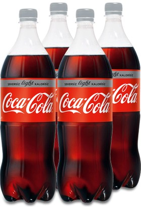 Coca-Cola Light 4 x 1 Lt
