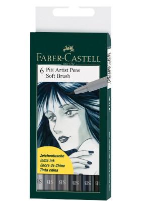 Faber-Castell Pitt Artist Pen 6'Lı