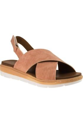 Twigy M0874Z Tw Alise Çapraz Bant Pembe Kadın Sandalet