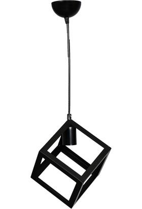 Oktay 14540 Arvis E27 Tekli Siyah Sarkıt