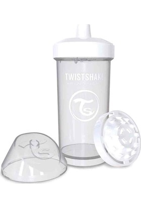 TwistShake Kid Cup Suluk - Beyaz - 360 ml