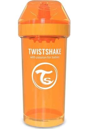TwistShake Kid Cup Suluk - Turuncu - 360 ml