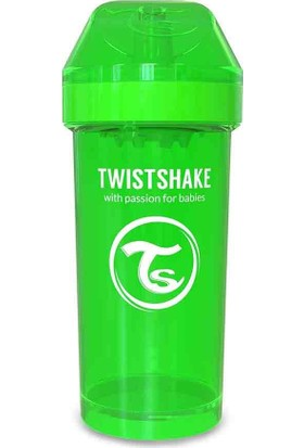 TwistShake Kid Cup Suluk - Yeşil - 360 ml