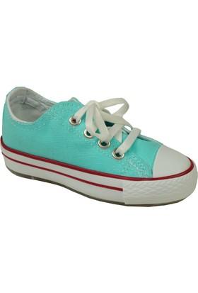 Jolly Shoes Keten Spor Ayakkabı - Su Yeşili