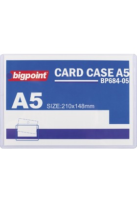 Bigpoint A5 Afiş Muhafaza Kabı