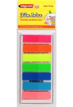 Bigpoint Yapışkanlı Film Index 7 Renk