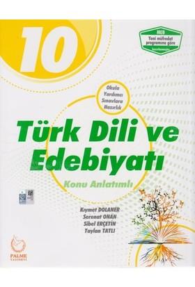 Palme 10. Sınıf Türk Dili Ve Edebiyatı Konu Anlatımlı Yeni 2019