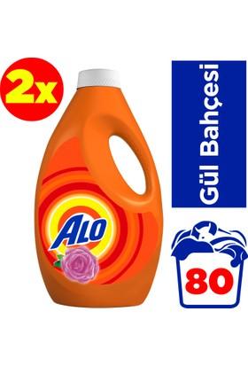 Alo Sıvı Çamaşır Deterjanı Gül Bahçesi 2 x 40 Yıkama (80 Yıkama)