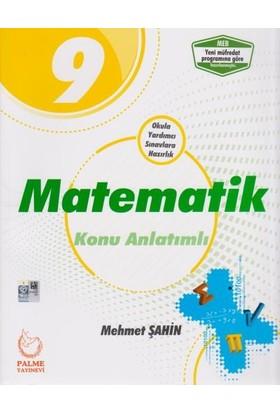 Palme 9. Sınıf Matematik Konu Anlatımlı - Mehmet Şahin