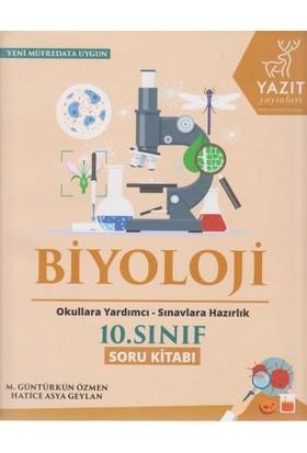 Yazıt Yayınları 10. Sınıf Biyoloji Soru Kitabı