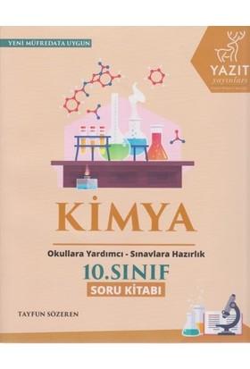 Yazıt Yayınları 10. Sınıf Kimya Soru Kitabı
