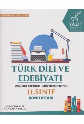 Yazıt Yayınları 11. Sınıf Türk Dili Ve Edebiyatı Konu Kitabı