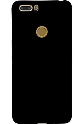Case 4U Vestel Venüs Z20 Kılıf Mat Silikon Arka Kapak - Premier - Siyah