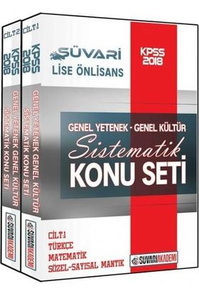 Süvari Akademi 2018 KPSS Lise Ön Lisans Genel Yetenek Genel Kültür Sistematik Konu Seti
