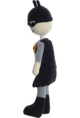Dfnbaby Amigurumi Yıkanabilir El Örmesi Uyku Arkadaşı Batman